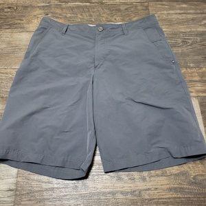 Lululemon men casual short sz 38 drk gray